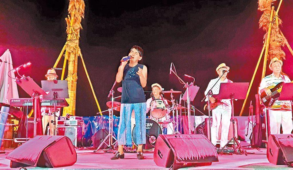 黃子佼日前在台南辦演唱會,很受歡迎。(安平虎鯨ORCA GO!提供)