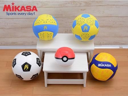 童年《皮卡丘排球》實體化 Pokemon x MIKASA 聯名商品正式販售