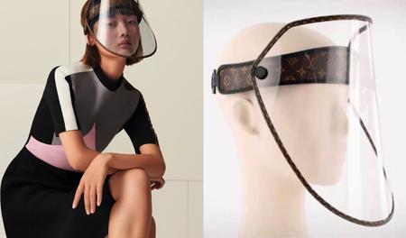 LV防疫面罩將開賣 高奢口罩兼遮陽帽...3萬天價妳買得下手?