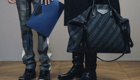 換上皮革與高級羊毛 Givenchy 2020秋冬男士系列手提袋款全新面貌再出發