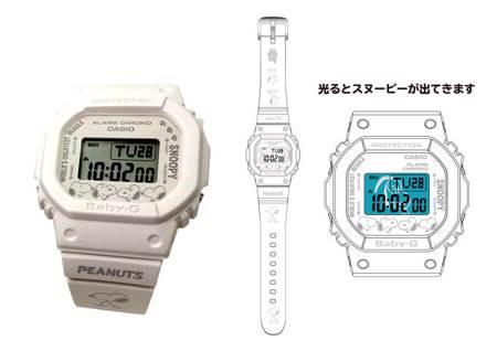 史努比控暴動 《PEANUTS 花生漫畫》攜手 BABY-G 帶來連載 70 週年限定錶款