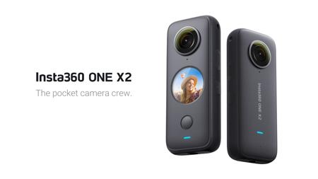 Insta360 ONE X2全景相機發表 AI剪輯自動選擇精彩畫面