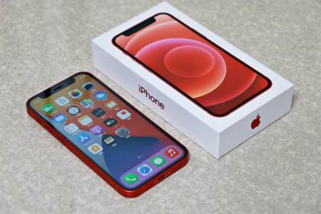 [開箱]iPhone 12 mini紅色 小巧輕巧單手操作超順