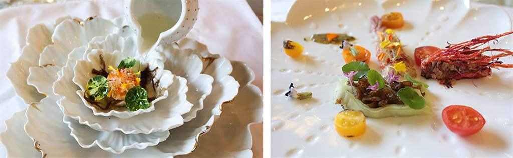 無菜單創意料理與瓷藝雙饗宴,需三天前預約。(圖片提供/1300玩藝space)