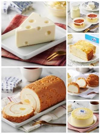 全聯We Sweet再聯名kiri 卡通版乳酪蛋糕吸睛