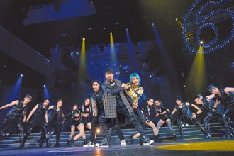 5566跨年守台中開場秀舞技