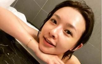 台劇女神洗澡到一半沒瓦斯 急PO自拍洩白晰一片