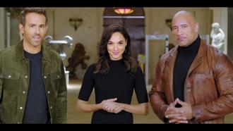 萊恩雷諾斯、蓋兒加朵、巨石強森偷遍全球 Netflix今年度70部電影陣容豪華