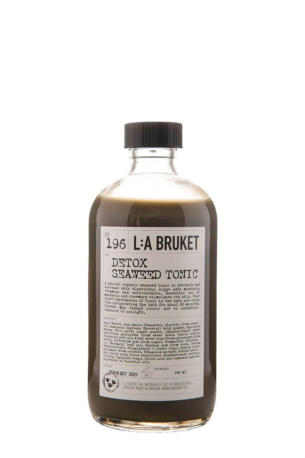 La Bruket 墨角藻淨化泡澡液240ml,1800元。(10/10 HOPE提供)