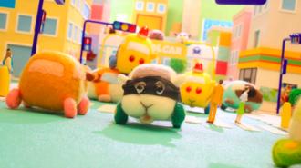 當哆啦A夢見到《天竺鼠車車》 結果逗笑網民