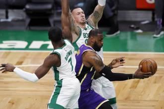 NBA》讀秒階段連兩次失誤 湖人仍贏綠軍止敗