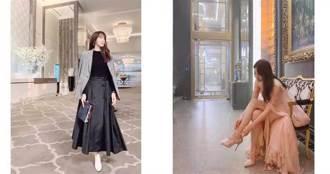 上流戰爭女主角李智雅超會穿 私下IG穿搭風格也有型