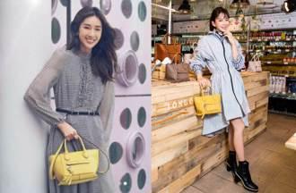 隋棠、Melody搶揹法式郵筒包 優雅詮釋春夏時尚