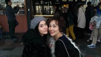 蕭瑤和我的女兒王宇婕 圓母演藝夢回台闖星河
