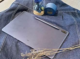[開箱]三星Galaxy Tab S7+星霧藍 優雅美型入手不blue