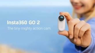 Insta360 GO 2 新款運動相機發表 僅有拇指大小造型輕巧