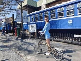 花東小鎮自行車漫旅 藝人安妮揪深度暢遊