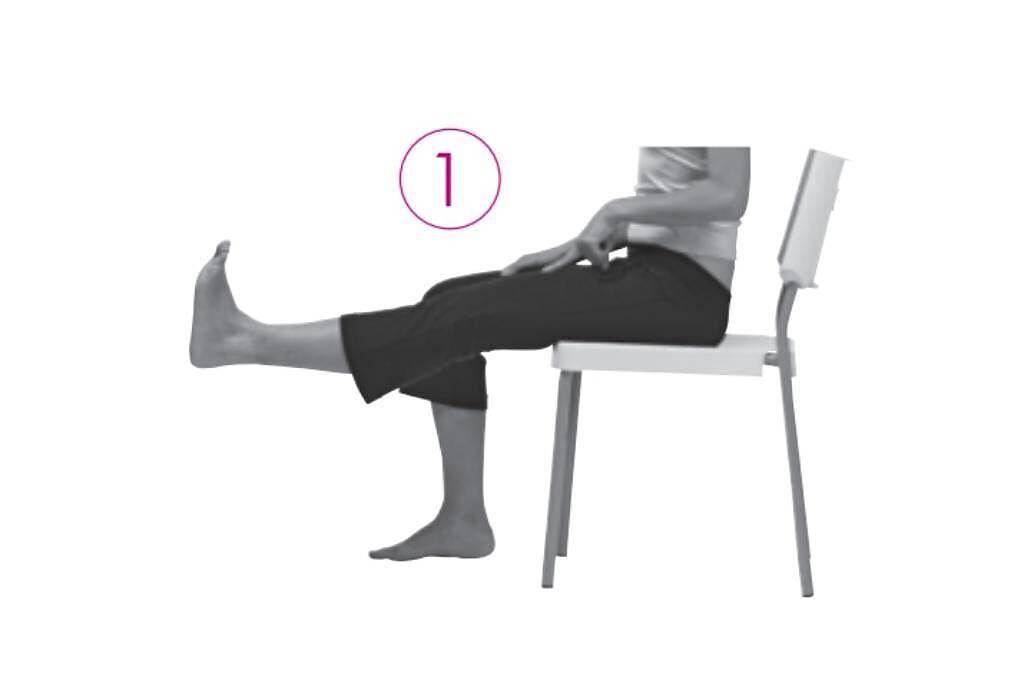 【測試1】:肌肉力量與關節柔軟度。(圖/新自然主義提供)