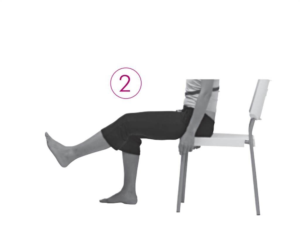 【測試1】:肌肉力量與關節柔軟度-測肌肉力量。(圖/新自然主義提供)