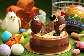 兒童節大驚喜 晶華「出奇蛋」鴕鳥蛋殼做的