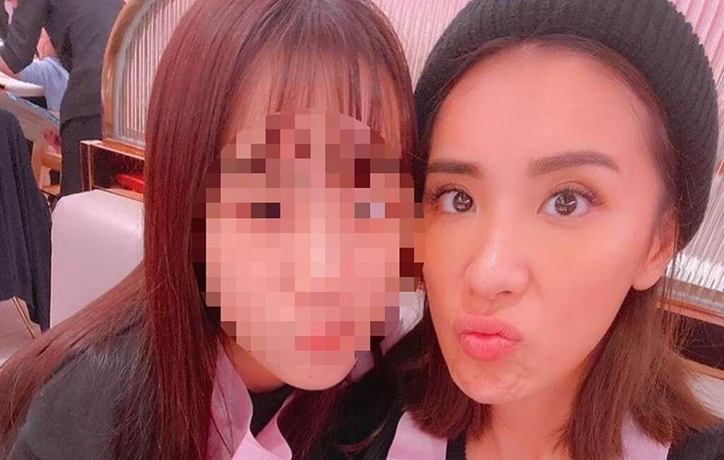 小禎和女兒的互動像朋友。(圖/IG@小禎)
