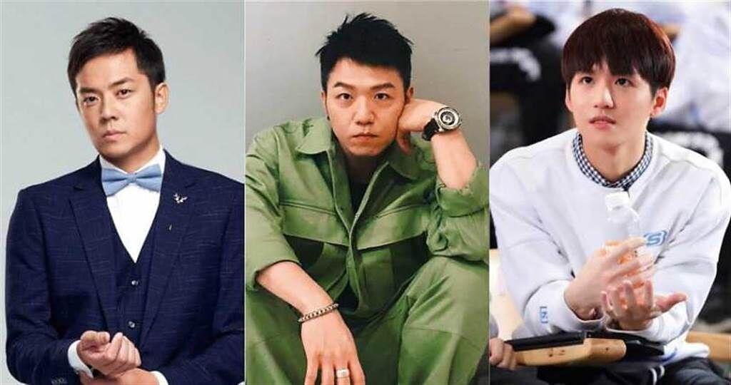 深夜按摩樂:(左)姚元浩、(中)大飛、(右)許凱皓。