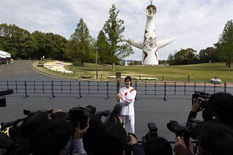 東京奧運》聖火傳遞到大阪 公園人煙稀少