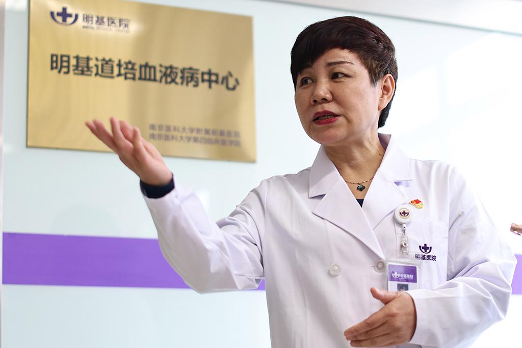 南京醫科大學附屬明基醫院血液科主任李東。(圖/旺旺中時文化傳媒提供)