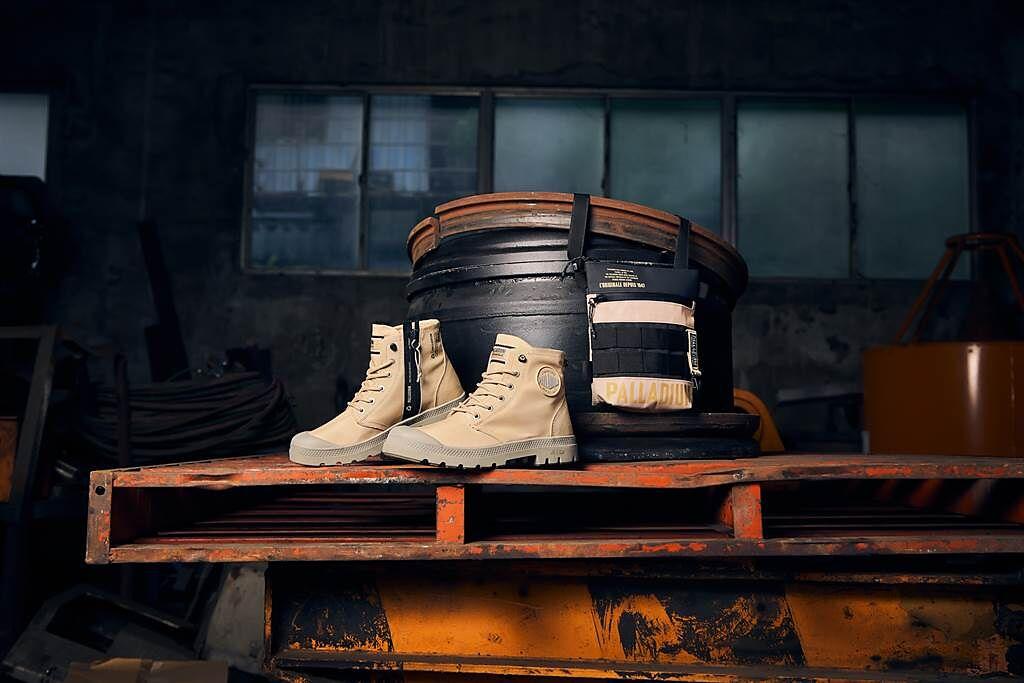 軍靴除了超人氣的深苔黑綠、迷霧灰、叢林綠等經典配色外,更特別推出充滿夏日明亮感且難得一見的「沙漠金色」。(圖/品牌提供)