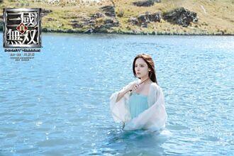 古力娜扎零度低溫下水重感冒 爆古天樂愛講冷笑話