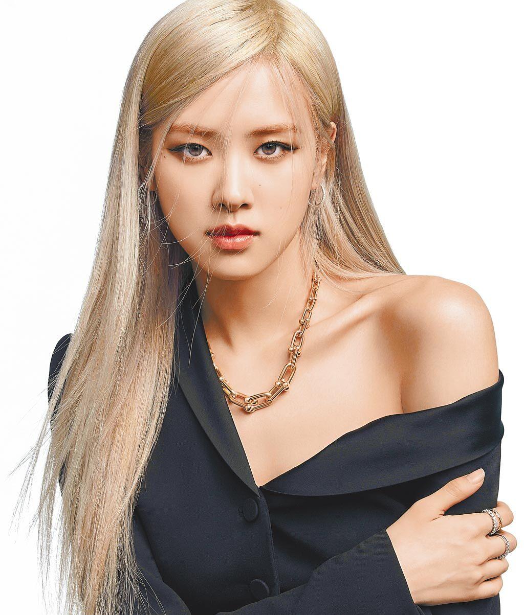 BLACKPINK成員ROSE擔任Tiffany全球品牌代言人。(Tiffany & Co.提供)