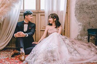 大小S的主播表妹嫁人了 低胸婚紗照曝光美如仙女