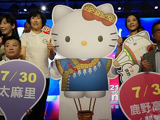 2021臺灣熱氣球嘉年華延長至45天 全球唯一HELLO KITTY熱氣球在臺東