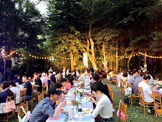 南庄花卉節星空下花卉餐桌音樂會 浪漫登場