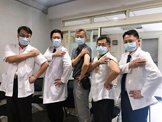 彰化縣衛生局偕醫界帶頭打疫苗 鼓勵第一線人員跟進