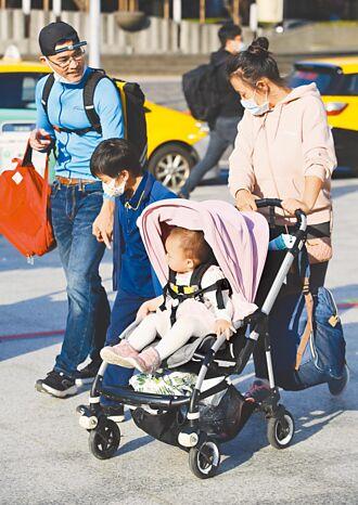 育嬰留停假領8成薪 預計7月1日上路