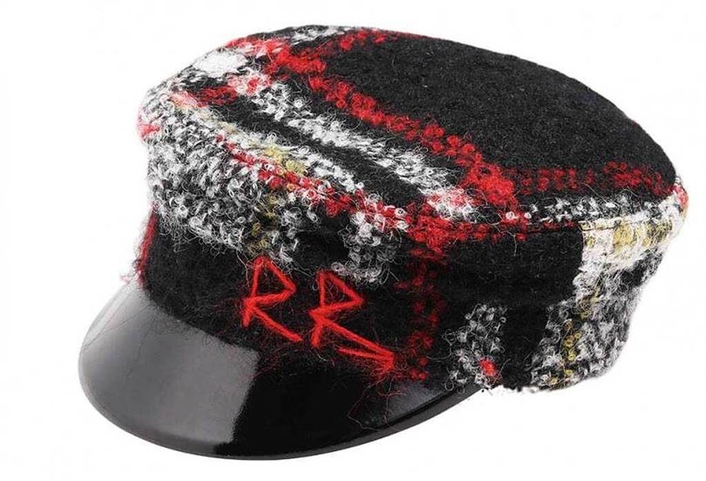 RUSLAN BAGINSKIY報童帽/約10,000元(攝影/戴世平)