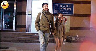 情侶裝秀親密1/當街遭襲臀、摟腰 巫苡萱勾高壯男夜返香閨