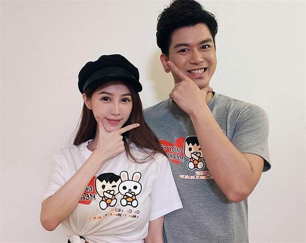 本土劇男星潘逸安2019年和小他10歲的網紅女友Vivian結婚,目前育有一個寶貝女兒。(圖/ 摘自潘逸安IG)