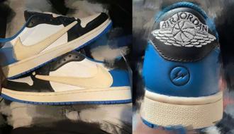 高筒還沒入手,低筒又要來鬧?Travis Scott x Fragment x Air Jordan 1 low 實鞋照曝光!鞋頭們的錢包要被閃電倒鉤電得咪咪貓貓了嗎?