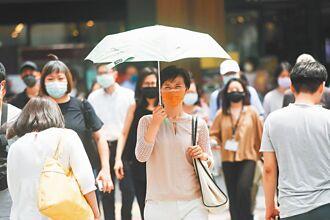 昨飆39.3高溫 全台炎熱少雨 至少持續10天