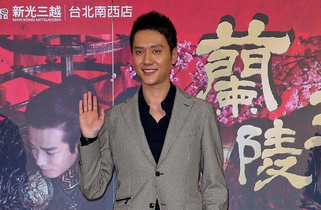 外型英俊、帥氣的馮紹峰,以戲劇《蘭陵王》在台打開知名度。(圖/本報系資料照片)
