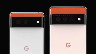 Google Pixel 6渲染圖首度曝光 與前代風格截然不同