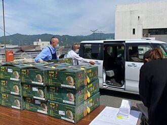 長野縣駒之根市購買5千公斤台灣鳳梨支持台灣