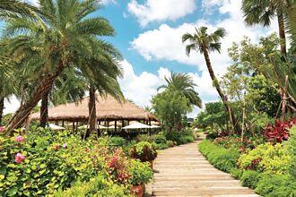 南洋風情主題園區 一秒置身南國小島度假