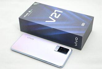 [評測]vivo V21 5G外觀美 雙補光燈讓自拍人像超亮眼
