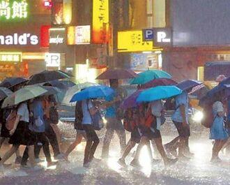 今夜明晨2地留意大雨 各地轉悶熱 午後易有短時強降雨