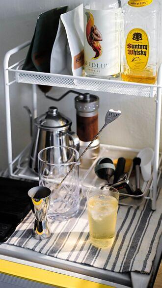 調酒師黃心皓:「居家品飲,享受片刻的愜意自在。」
