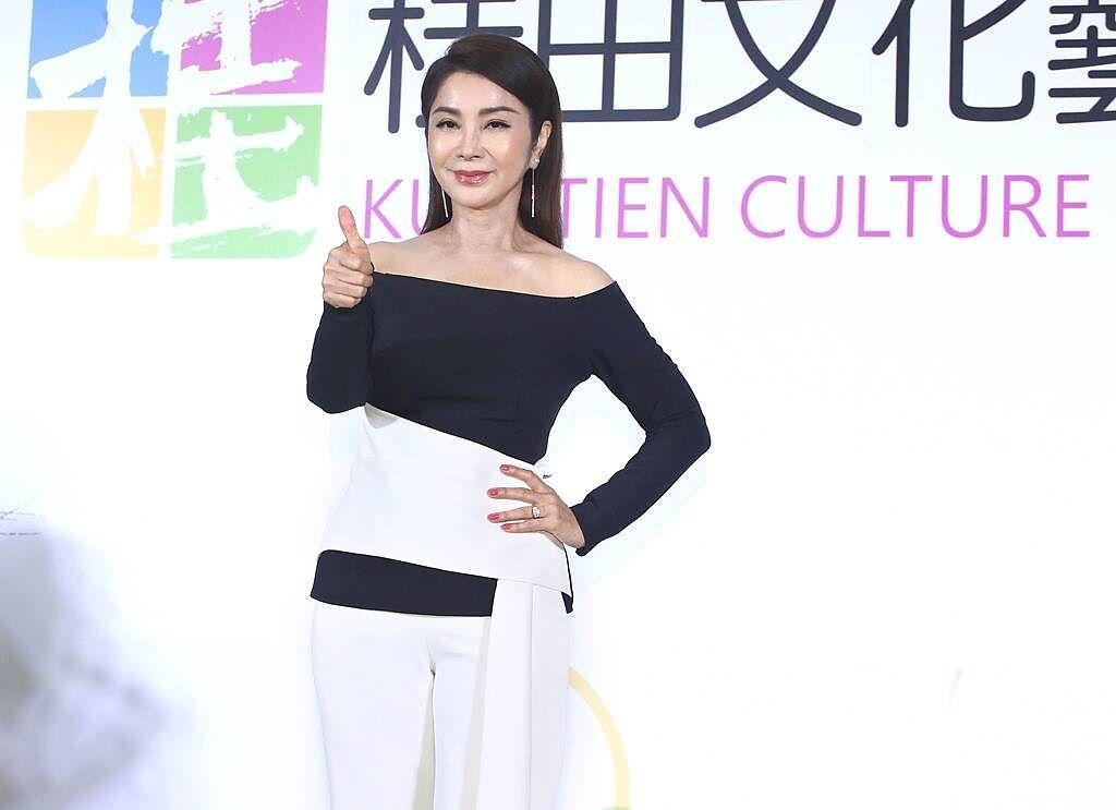陳美鳳有「台灣最美麗歐巴桑」稱號。(圖/中時資料照)