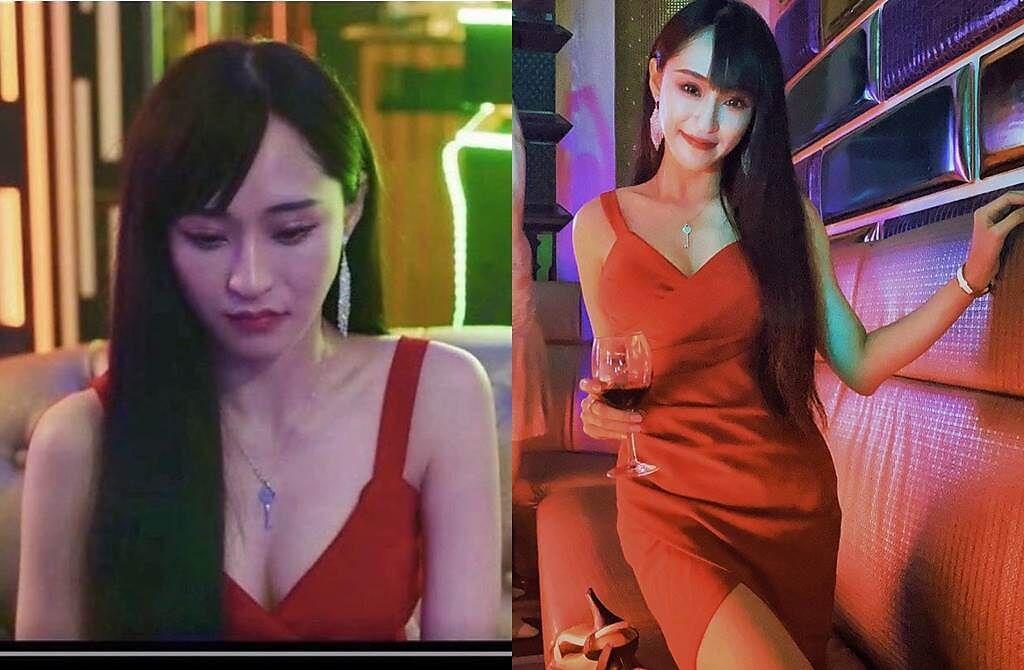 傅靖瑜客串影集《第三布局 塵沙惑》。(圖/翻攝自傅靖瑜臉書)